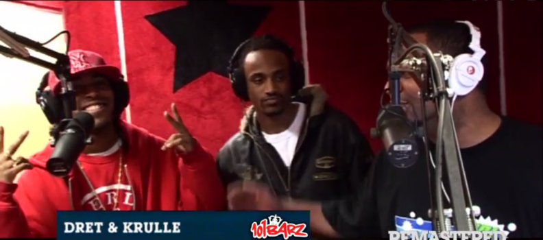 Video: Dret & Krulle bij 101Barz (remastered)